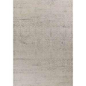 "7'7"" x 10'10"" Pewter Imperial Antiquities Rug"