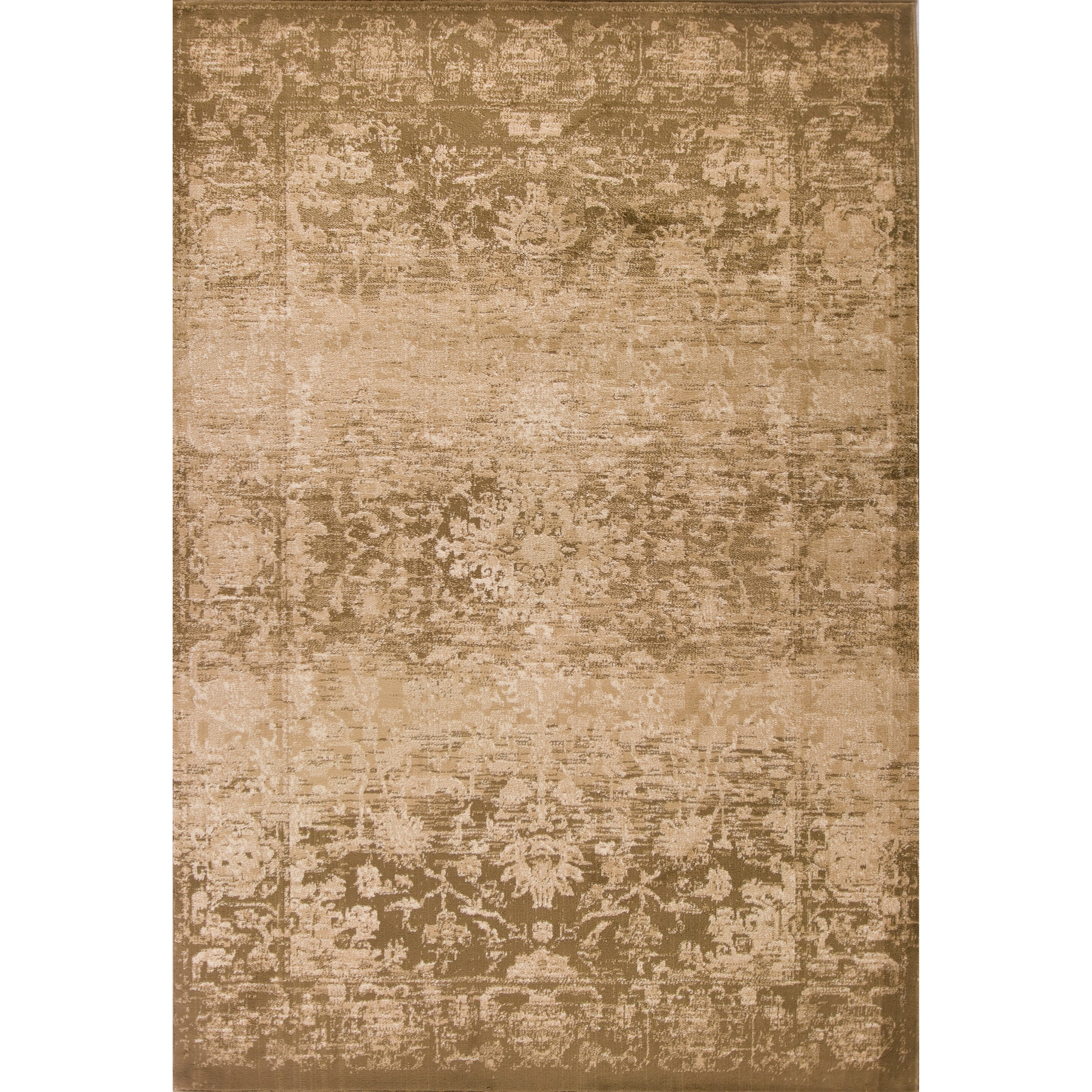 """Heritage 3'3"""" X 4'11"""" Beige Serenity Area Rug by Kas at Zak's Home"""