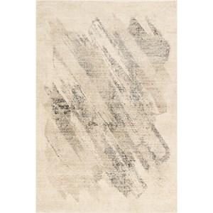 "8'10"" x 13' Ivory/Grey Luster Rug"