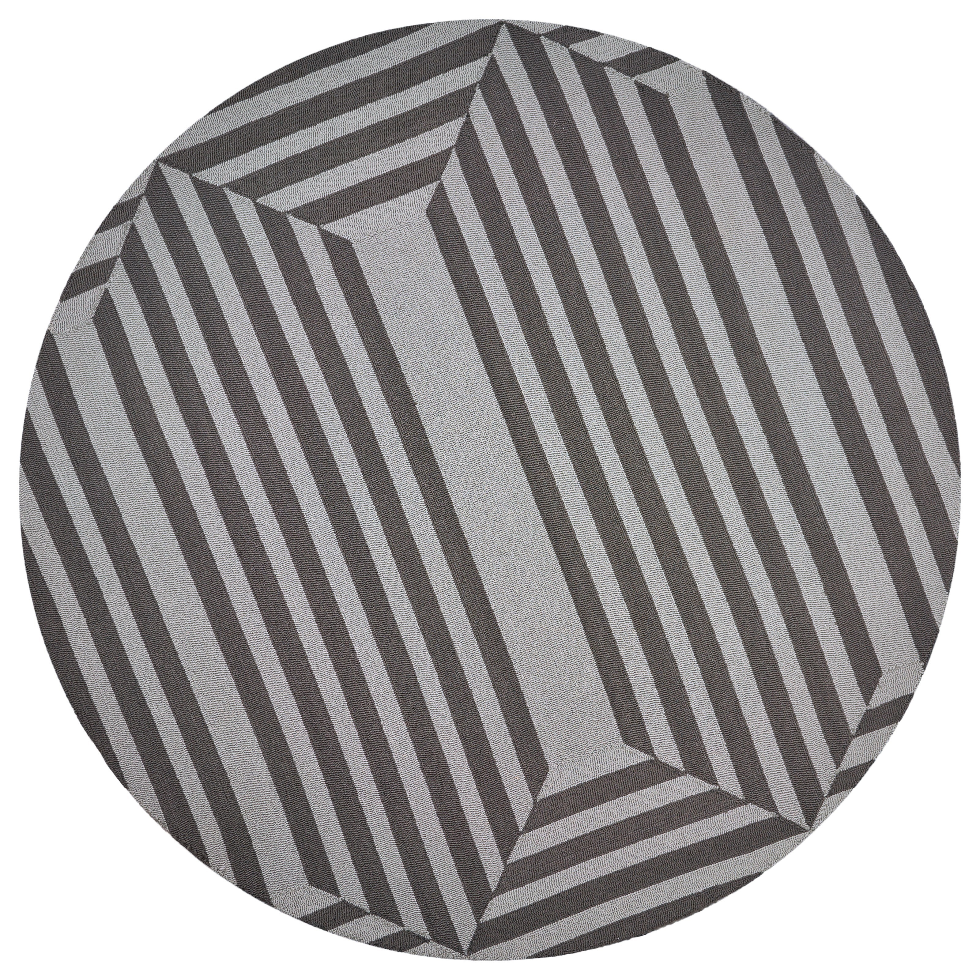 Libby Langdon Hamptons 7' Round Rug by Kas at Zak's Home