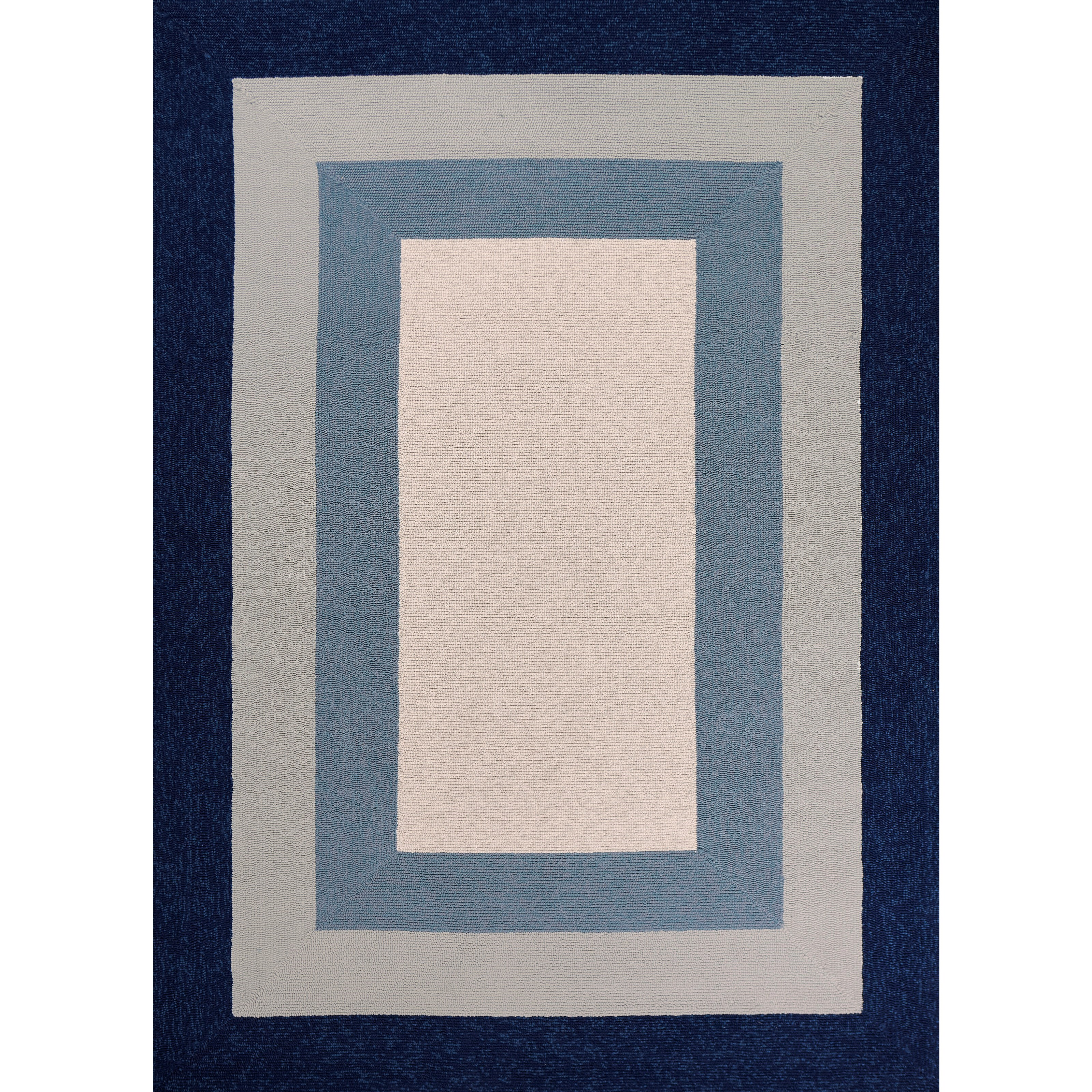 """Libby Langdon Hamptons 2'10"""" X 1'9"""" Area Rug by Kas at Zak's Home"""