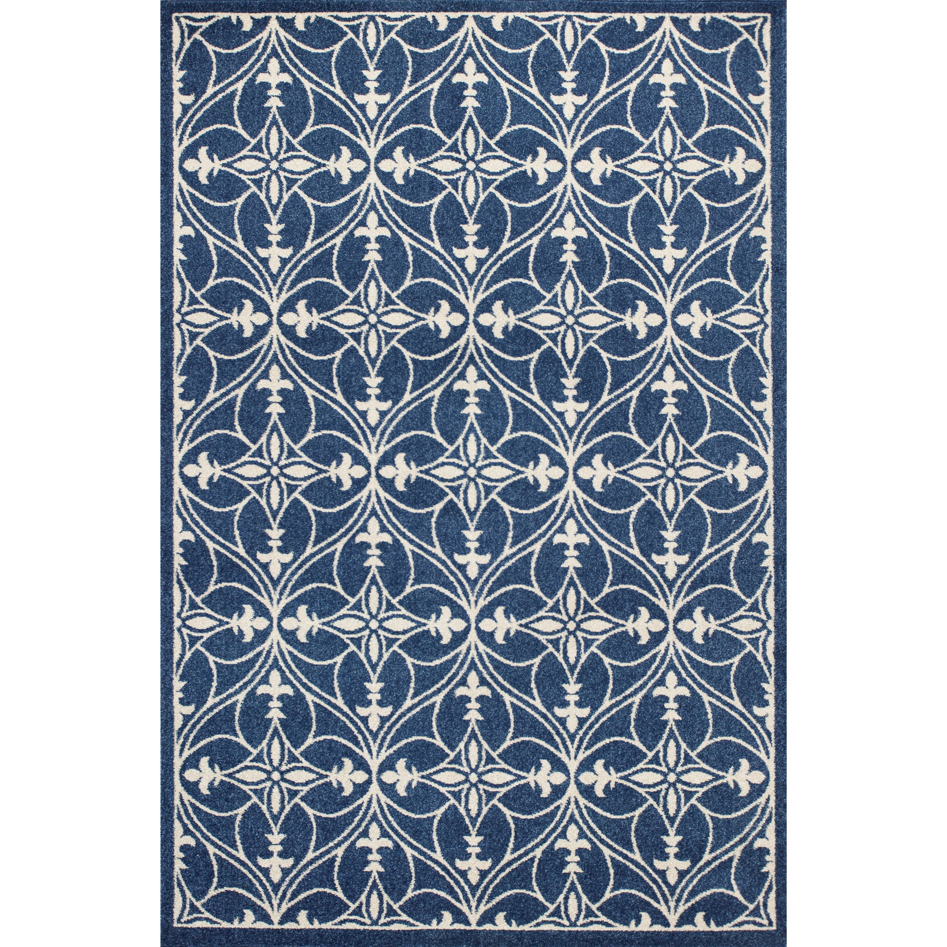 """Lucia 7'7"""" X 10'10"""" Denim Bentley Area Rug by Kas at Wilson's Furniture"""