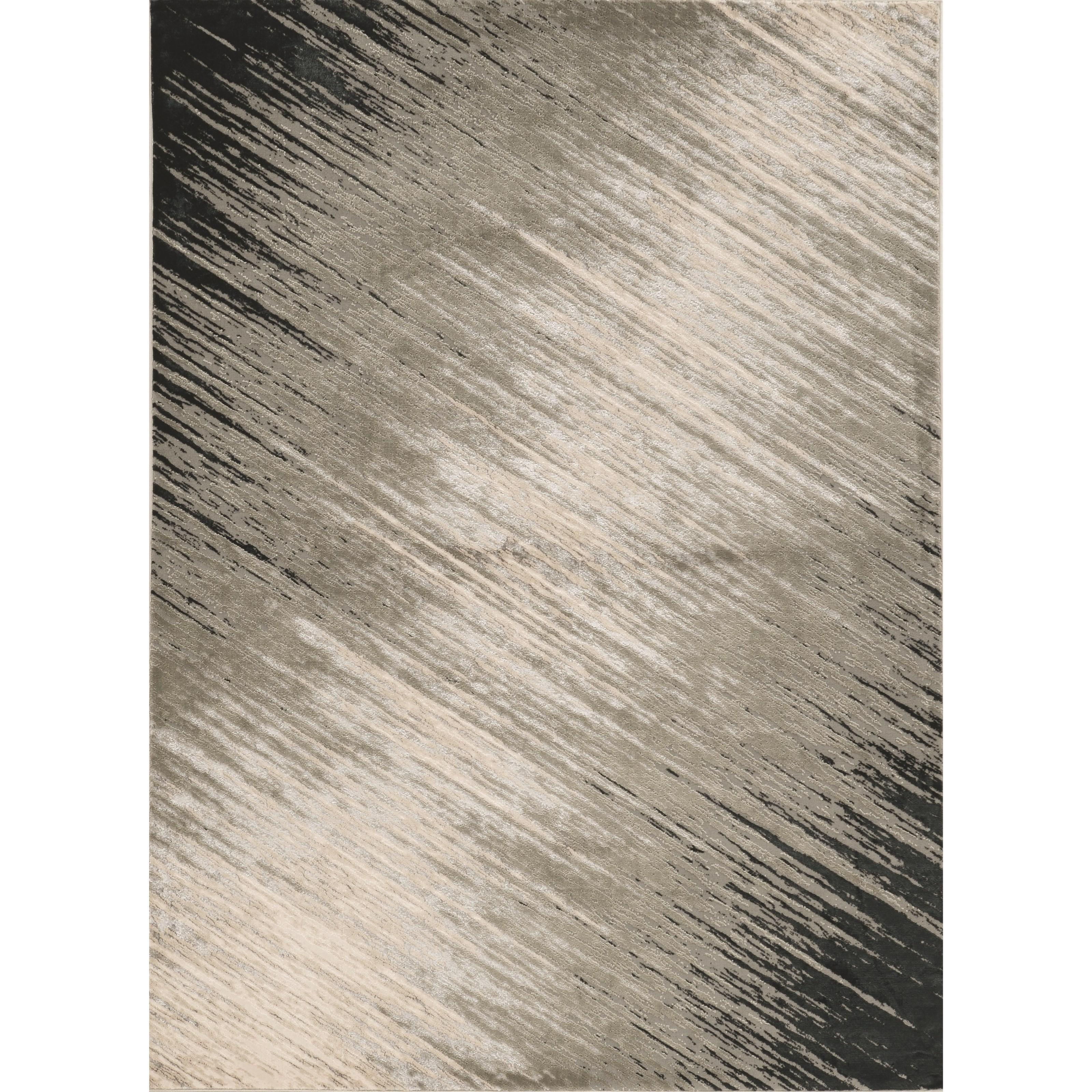 "Luna 7'10"" x 10'10"" Silver Grey Nova Rug by Kas at Wilson's Furniture"