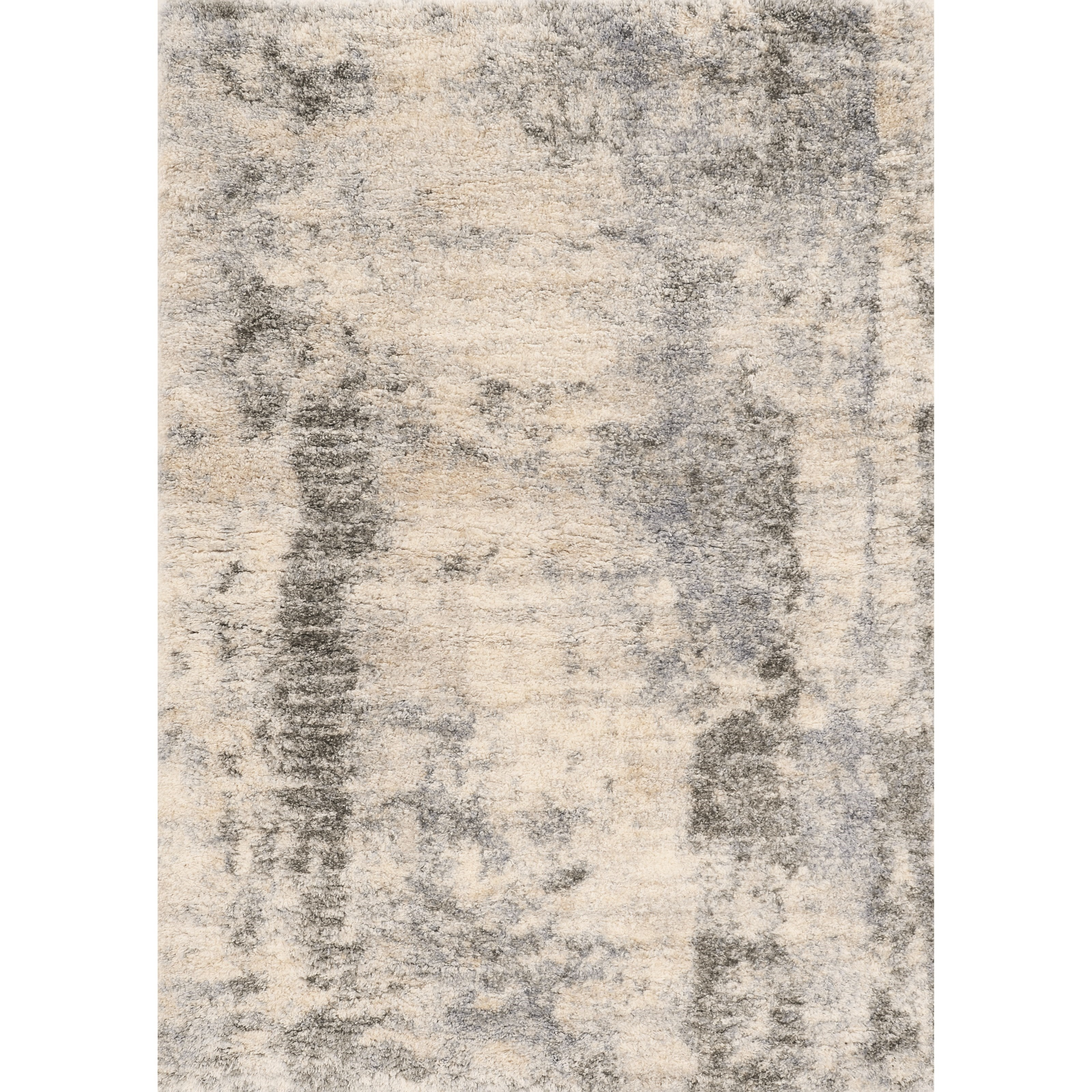 """Merino 7'10"""" x 9'10"""" Ivory/Blue Palette Rug by Kas at Wilson's Furniture"""