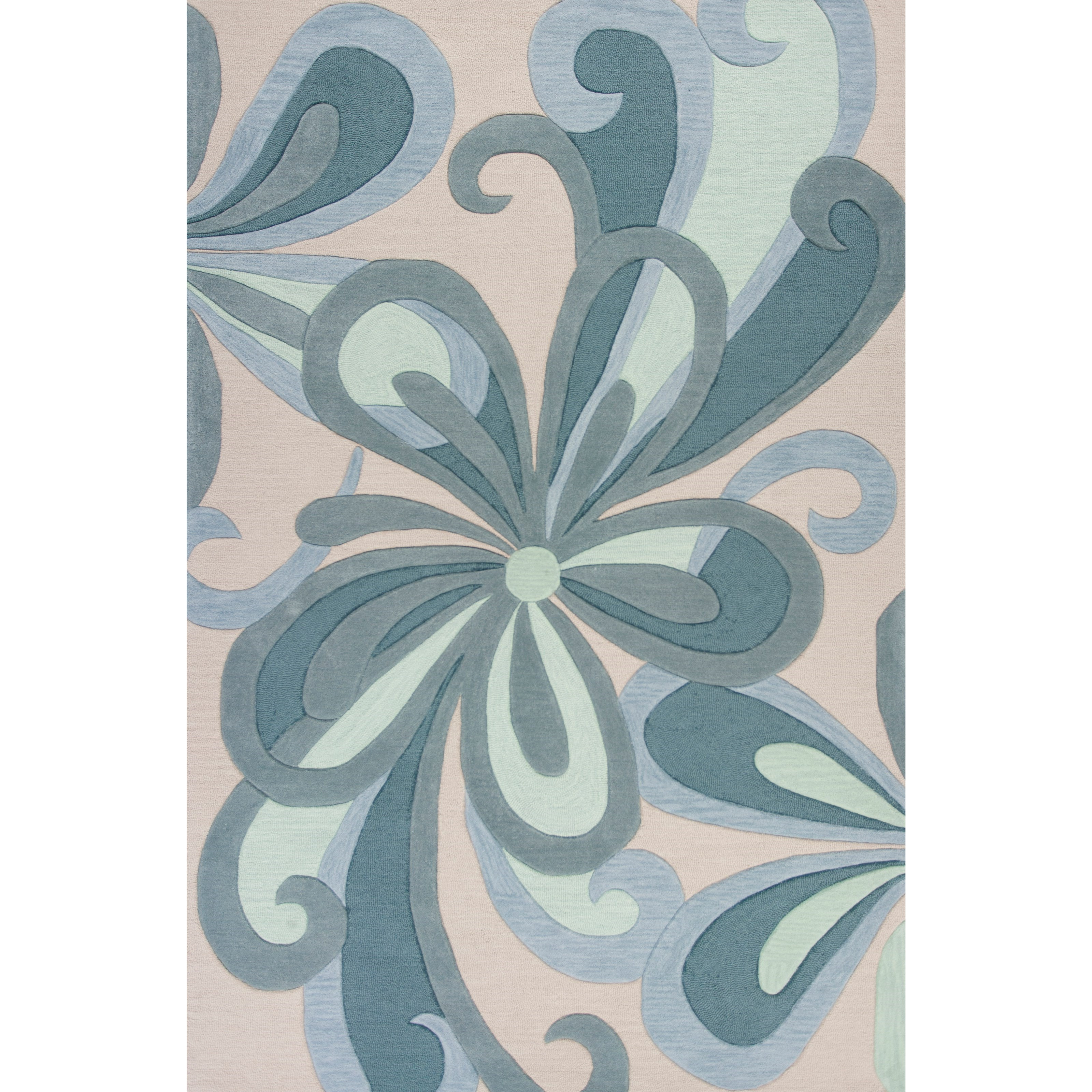 "Milan 5'3"" X 3'3"" Area Rug by Kas at Wilson's Furniture"