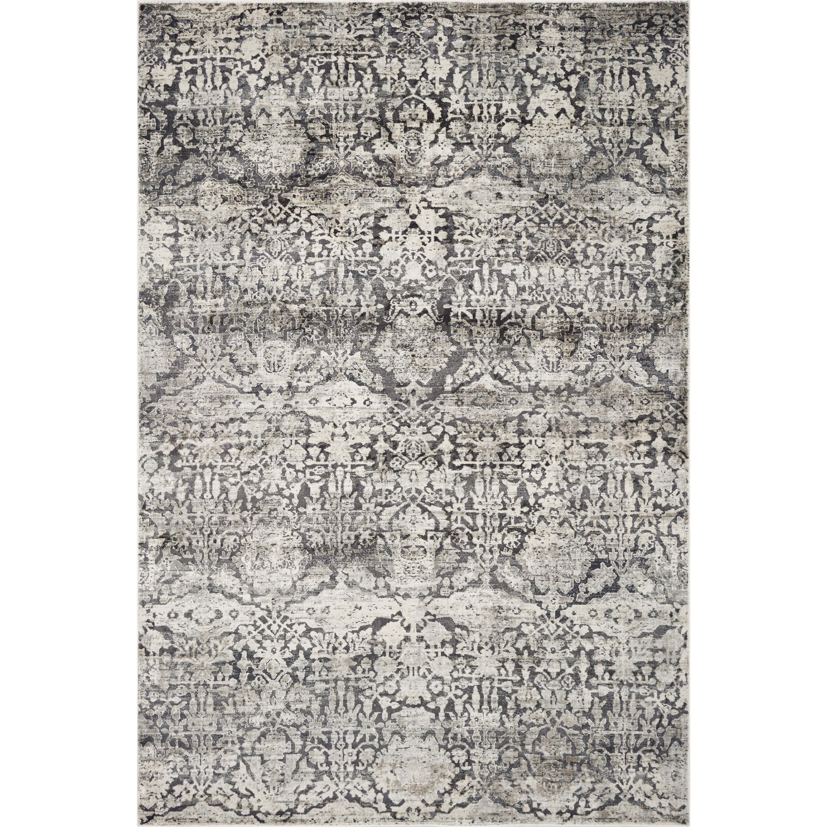 """Montreal 3'3"""" x 4'11"""" Grey Heidi Rug by Kas at Zak's Home"""