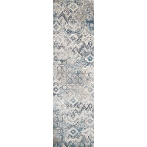 "2'2"" x 7'6"" Runner Teal Avery Rug"
