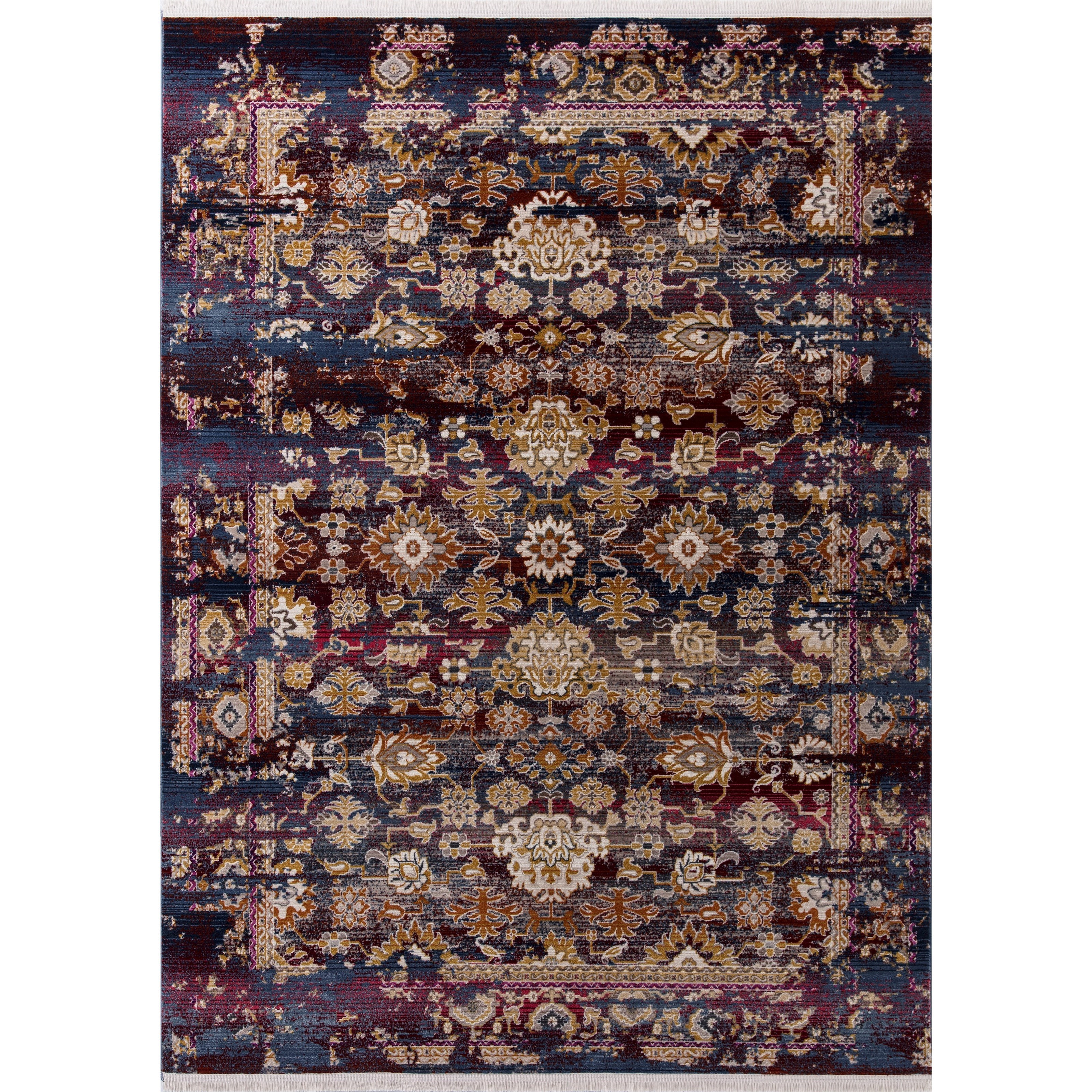 """Papillon 3'3"""" x 4'11"""" Jeweltone Cypress Rug by Kas at Wilson's Furniture"""