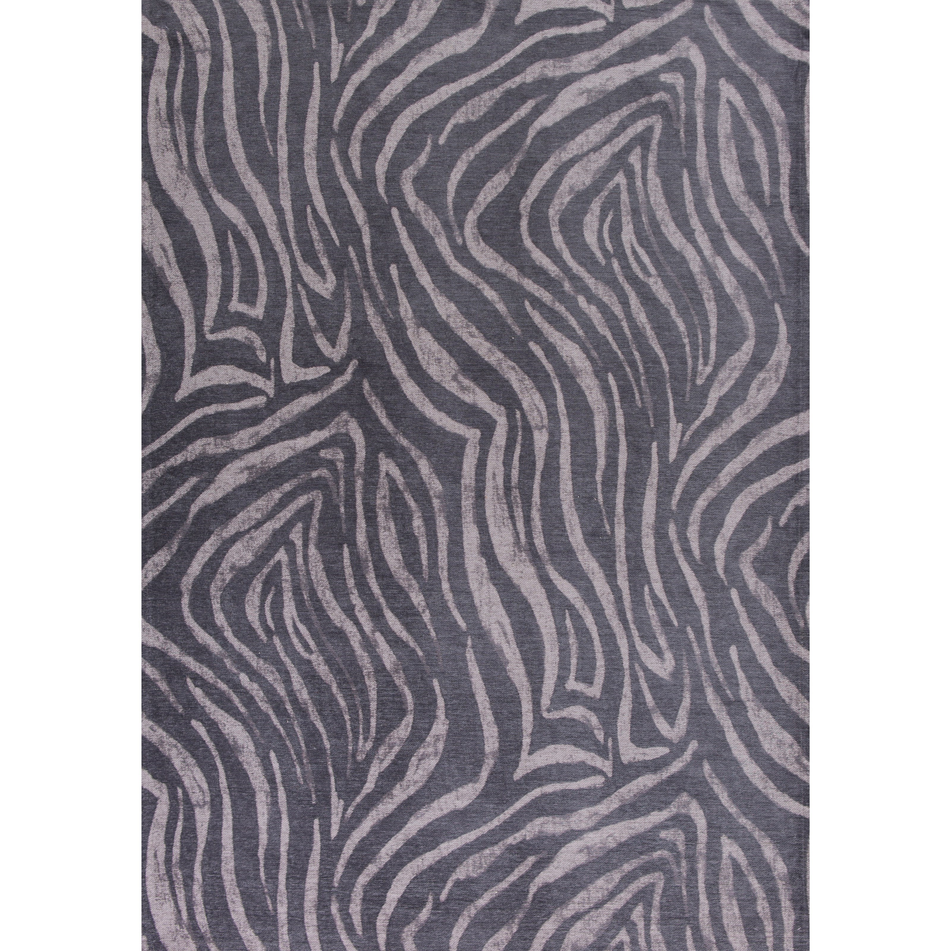 """Retreat 6'7"""" X 9'6"""" Charcoal Sahara Area Rug by Kas at Wilson's Furniture"""