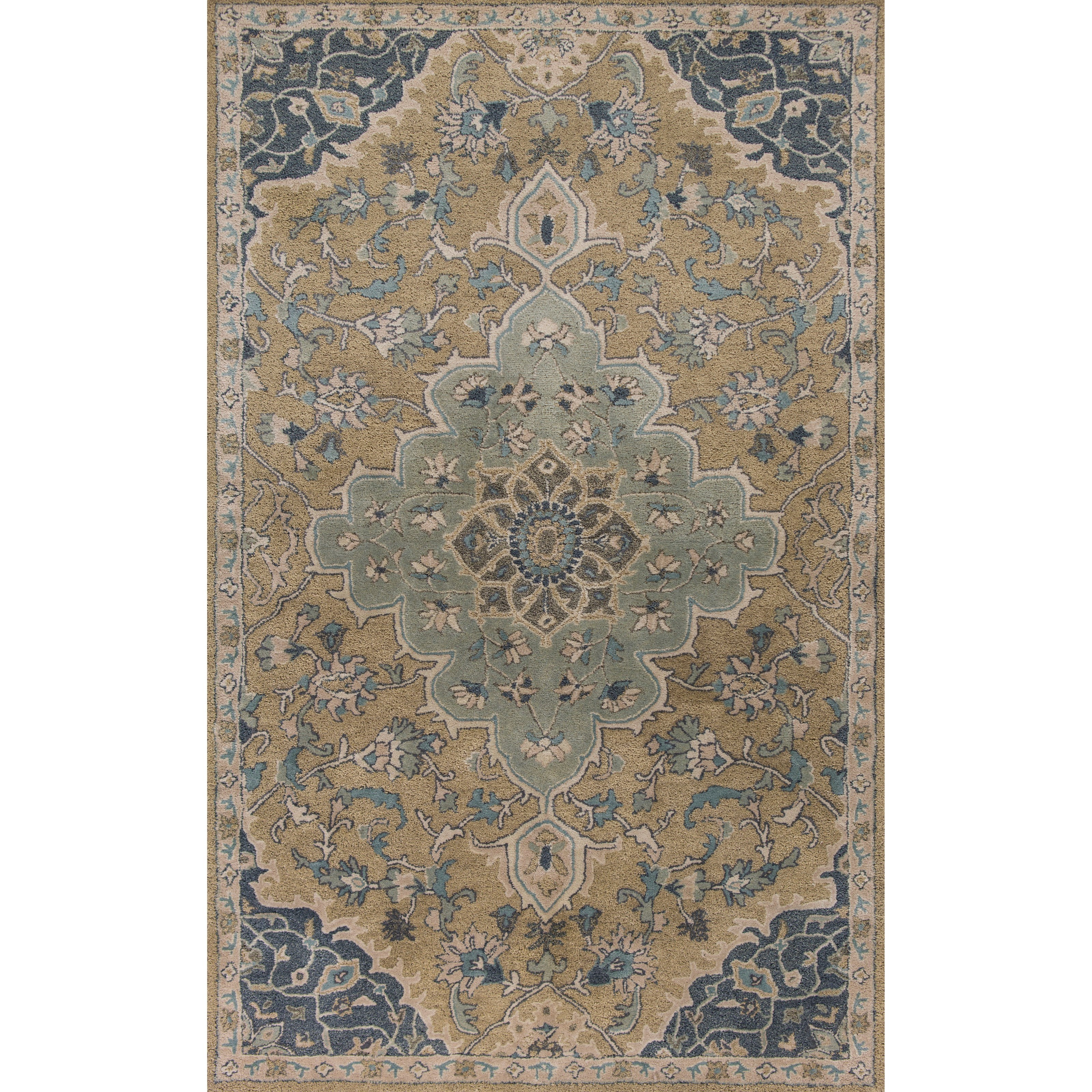 "Samara 2'3"" X 7'6"" Taupe Imperial Area Rug by Kas at Zak's Home"