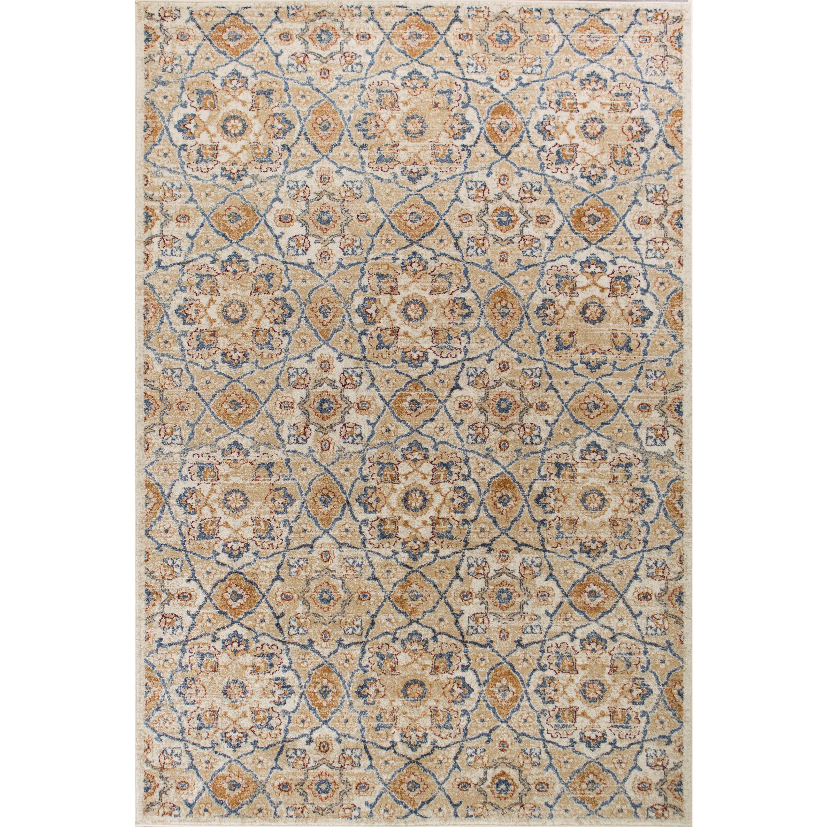 """Seville 4'11"""" X 3'3"""" Area Rug by Kas at Wilson's Furniture"""