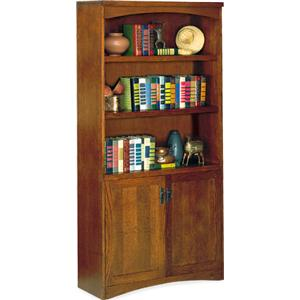 kathy ireland Home by Martin California Bungalow Lower Door Bookcase