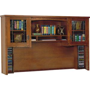 kathy ireland Home by Martin California Bungalow Deluxe Hutch Top