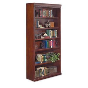 "kathy ireland Home by Martin Huntington Club 48"" Open Bookcase"