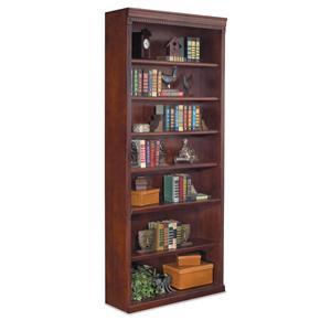 "kathy ireland Home by Martin Huntington Club 84"" Open Bookcase"