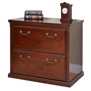 kathy ireland Home by Martin Huntington Club Two Drawer Lateral File Cabinet