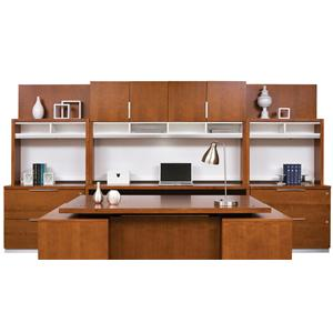 kathy ireland Home by Martin Monterey Office Wall Unit