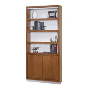 kathy ireland Home by Martin Monterey Bookcase with Lower Doors