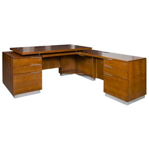 kathy ireland Home by Martin Monterey RHF L-Shaped Desk