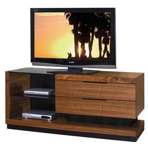 Martin Home Furnishings Stratus-Walnut Small Television Console
