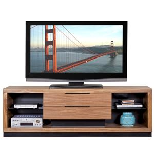 Martin Home Furnishings Stratus-Walnut Television Console