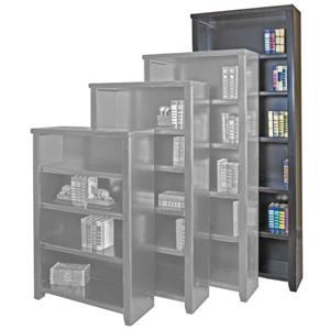 """kathy ireland Home by Martin Tribeca Loft 84"""" Bookcase"""