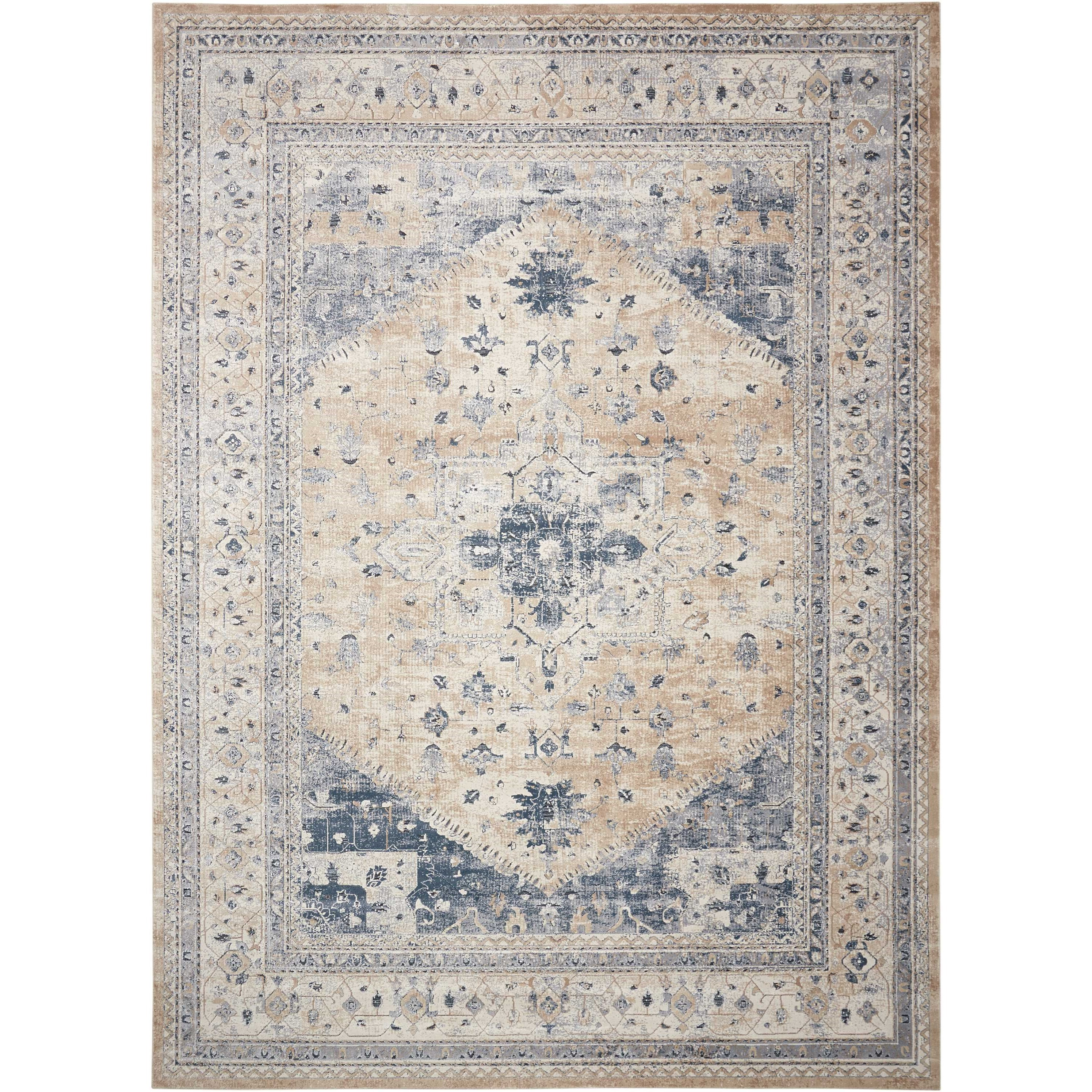 "Malta 3'11"" x 5'7"" Rug by kathy ireland Home by Nourison at Home Collections Furniture"