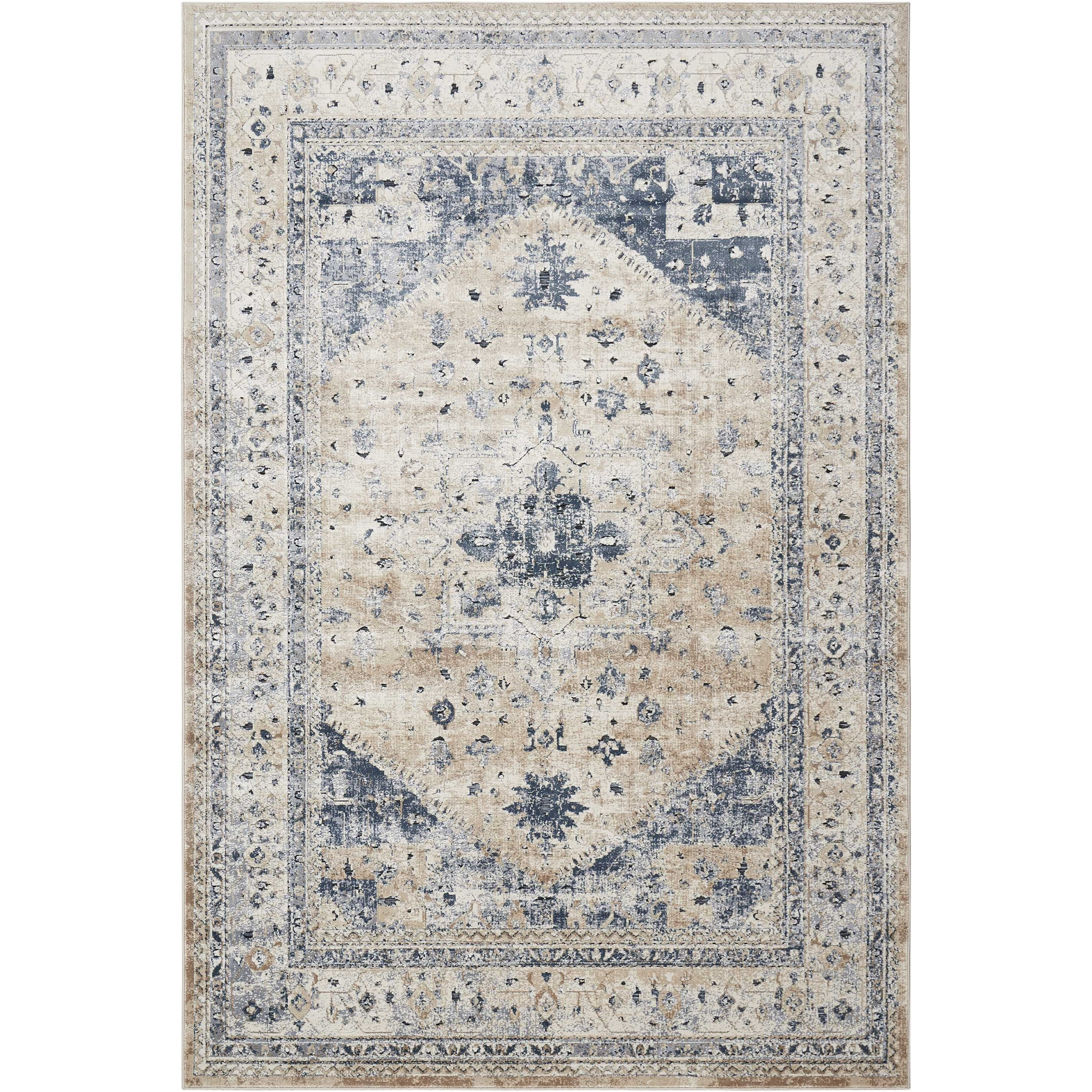 "Malta 5'3"" x 7'7"" Rug by kathy ireland Home by Nourison at Home Collections Furniture"
