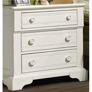 Vaughan Furniture Cottage Grove Nightstand with 3 Drawers