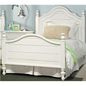 Vaughan Furniture Cottage Grove Twin Poster Bed