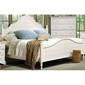 Vaughan Furniture Cottage Grove King Poster Bed