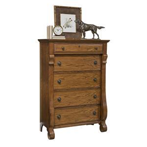 Vaughan Furniture Georgetown 5 Drawer Chest