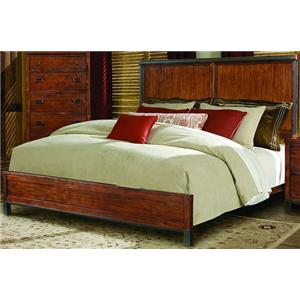 Vaughan Furniture Rustic Lodge King Panel Bed