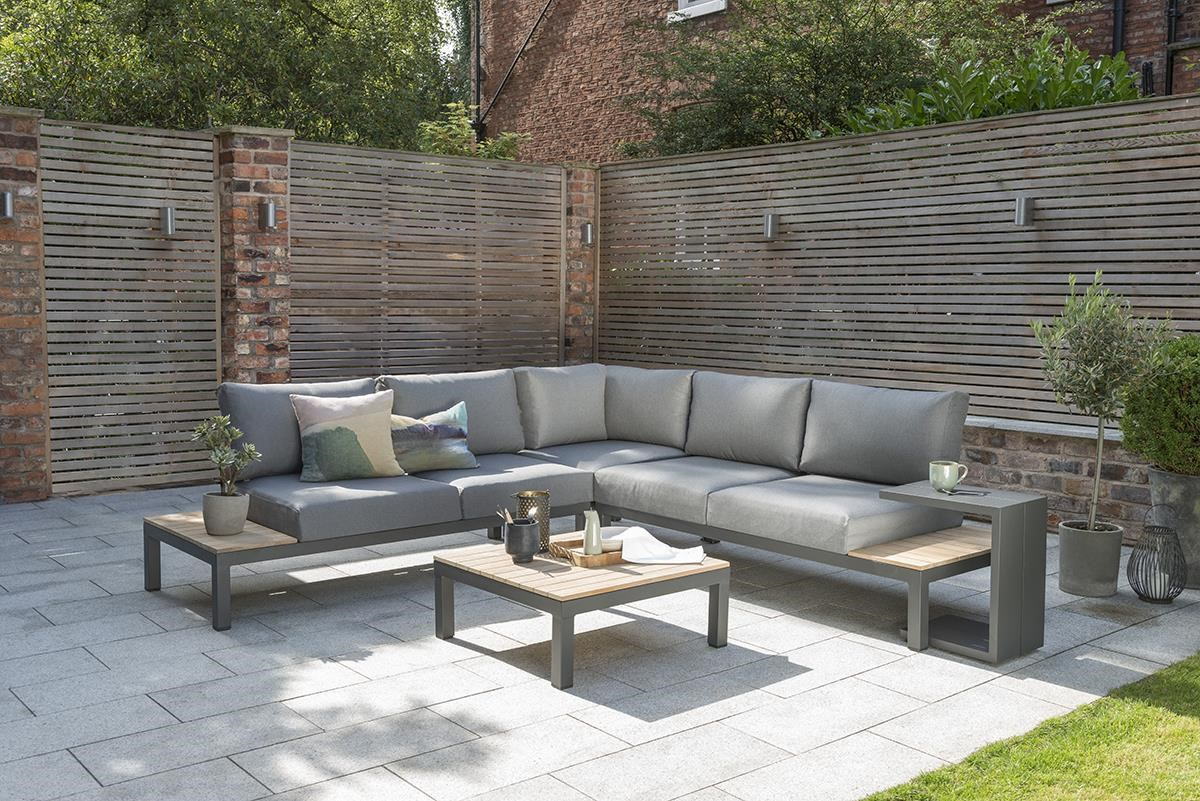ELBA Outdoor Sectional W/Cocktail Table by Kettler at Darvin Furniture