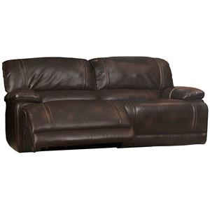 Dual Recliner Sofa w/ Pillow Arms