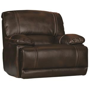 Glider Recliner Chair w/ Pillow Arms