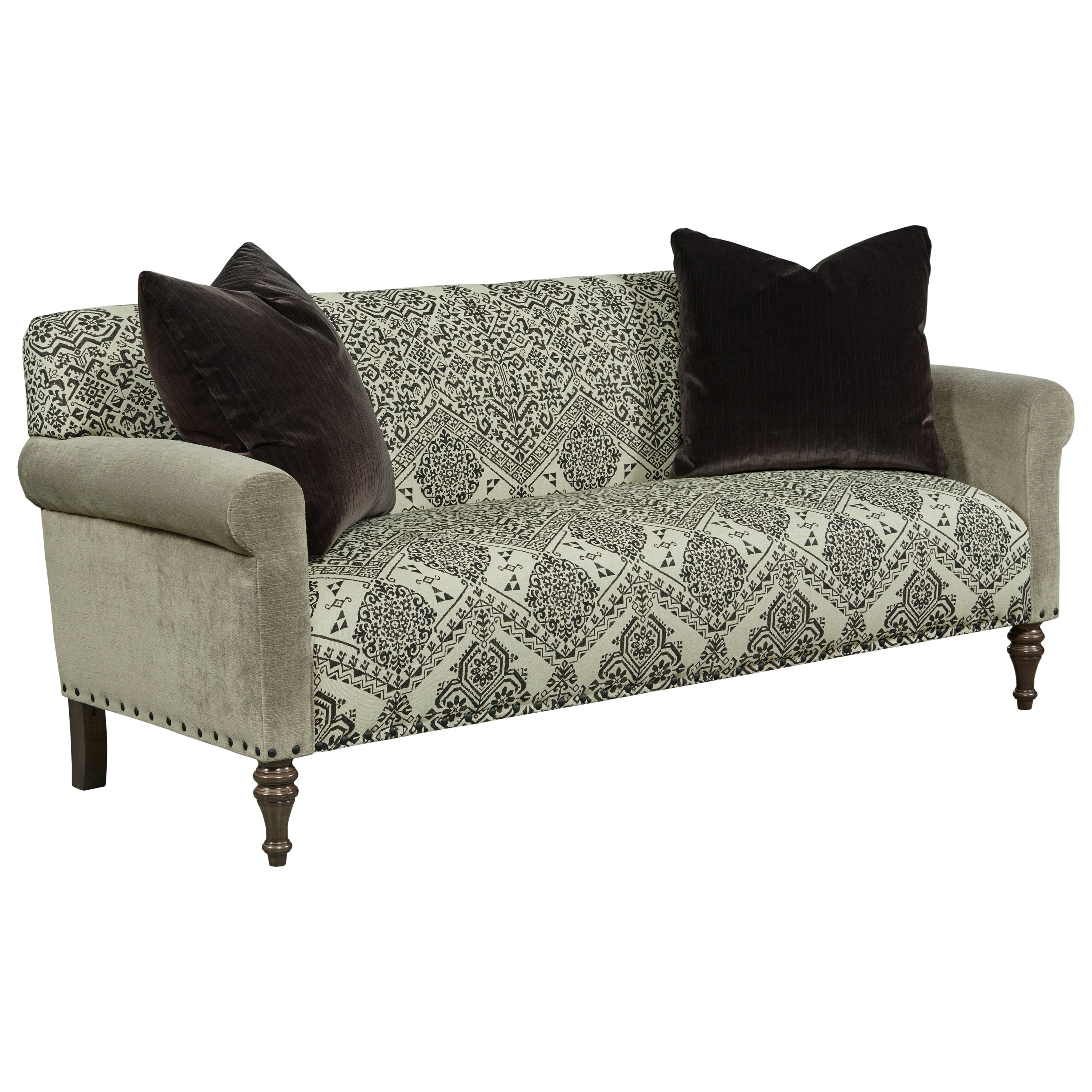 Aldrich Settee by Kincaid Furniture at Johnny Janosik