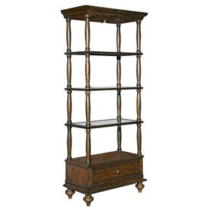 Kincaid Furniture Artisans Shoppe Accents Birmingham Etagere