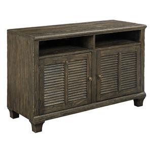 Kincaid Furniture Artisans Shoppe Accents Small Media Console