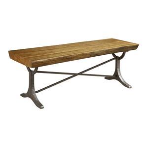 Kincaid Furniture Artisans Shoppe Accents Live Edge Wood Table