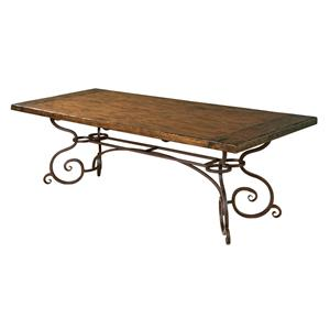 "Kincaid Furniture Artisan's Shoppe Dining 94"" Rectangular Dining Table"