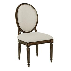 Kincaid Furniture Artisan's Shoppe Dining Oval-Backed Dining Side Chair