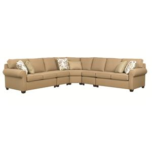 Kincaid Furniture Brannon 5 Pc Sectional Sofa