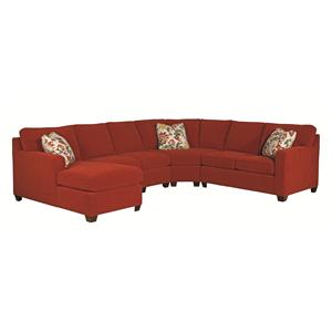 Kincaid Furniture Brooke 5 Pc Sectional Sofa