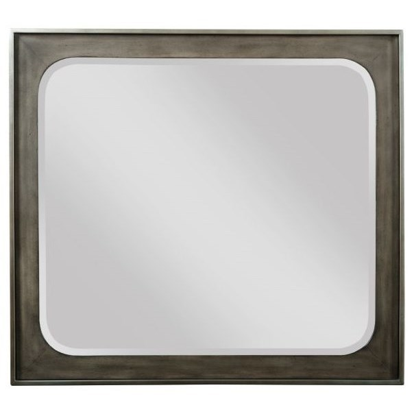 Cascade Madison Landscape Mirror by Kincaid Furniture at Darvin Furniture