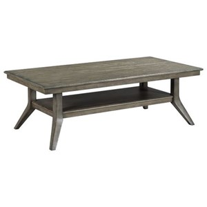 Lamont Solid Wood Rectangular Coffee Table