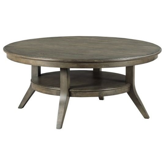 Cascade Lamont Round Coffee Table by Kincaid Furniture at Johnny Janosik