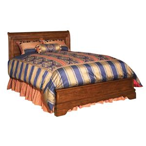 Kincaid Furniture Chateau Royale Queen Low Profile Sleigh Bed
