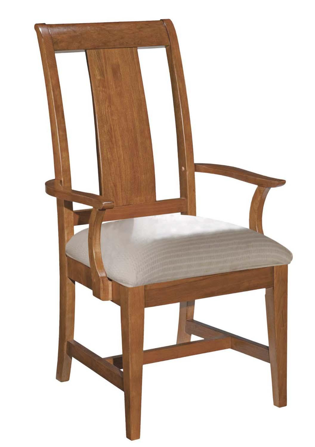Cherry Park Arm Chair by Kincaid Furniture at Johnny Janosik