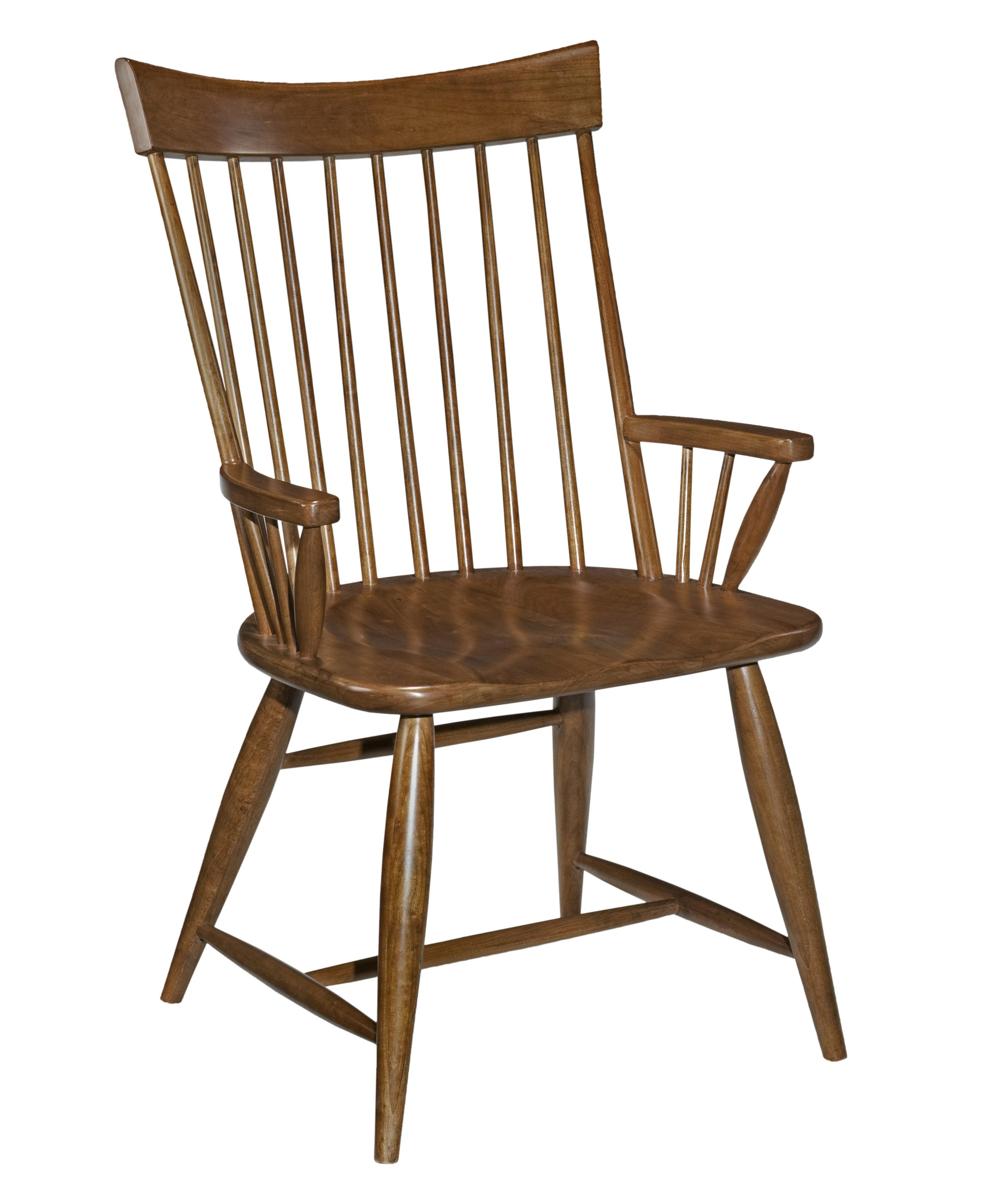 Cherry Park Windsor Arm Chair by Kincaid Furniture at Northeast Factory Direct